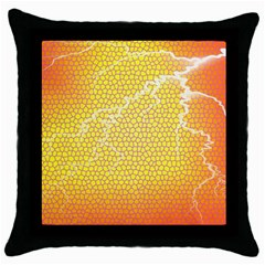 Exotic Backgrounds Throw Pillow Case (black) by Simbadda