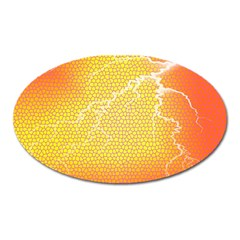 Exotic Backgrounds Oval Magnet by Simbadda