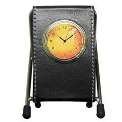 Exotic Backgrounds Pen Holder Desk Clocks by Simbadda