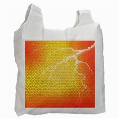 Exotic Backgrounds Recycle Bag (two Side)  by Simbadda
