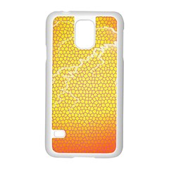 Exotic Backgrounds Samsung Galaxy S5 Case (white)