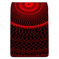 Red Spiral Featured Flap Covers (l)  by Alisyart