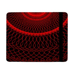 Red Spiral Featured Samsung Galaxy Tab Pro 8 4  Flip Case by Alisyart