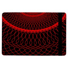 Red Spiral Featured Ipad Air Flip by Alisyart