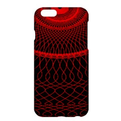 Red Spiral Featured Apple Iphone 6 Plus/6s Plus Hardshell Case by Alisyart