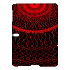 Red Spiral Featured Samsung Galaxy Tab S (10 5 ) Hardshell Case  by Alisyart