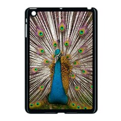 Indian Peacock Plumage Apple Ipad Mini Case (black) by Simbadda