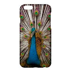 Indian Peacock Plumage Apple Iphone 6 Plus/6s Plus Hardshell Case by Simbadda
