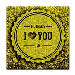 Happy Mother Day Tile Coasters by Simbadda