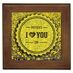 Happy Mother Day Framed Tiles by Simbadda