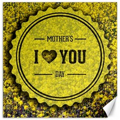 Happy Mother Day Canvas 20  X 20   by Simbadda