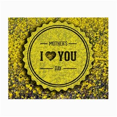 Happy Mother Day Small Glasses Cloth (2 Side) by Simbadda