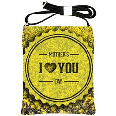 Happy Mother Day Shoulder Sling Bags by Simbadda