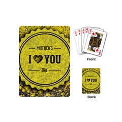 Happy Mother Day Playing Cards (mini)  by Simbadda
