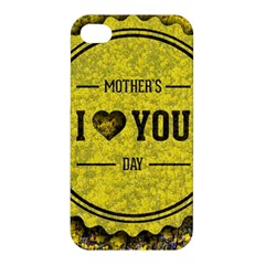 Happy Mother Day Apple Iphone 4/4s Hardshell Case by Simbadda