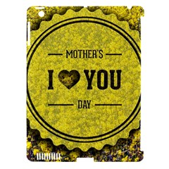 Happy Mother Day Apple Ipad 3/4 Hardshell Case (compatible With Smart Cover) by Simbadda
