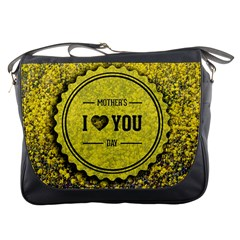 Happy Mother Day Messenger Bags by Simbadda
