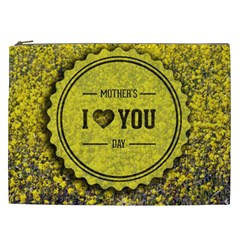 Happy Mother Day Cosmetic Bag (xxl)  by Simbadda