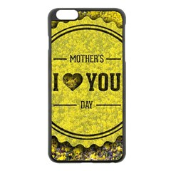 Happy Mother Day Apple Iphone 6 Plus/6s Plus Black Enamel Case by Simbadda