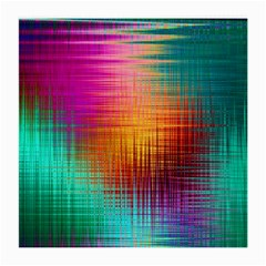 Colourful Weave Background Medium Glasses Cloth by Simbadda