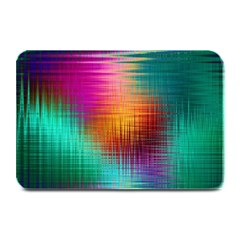 Colourful Weave Background Plate Mats by Simbadda