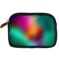 Colourful Weave Background Digital Camera Cases by Simbadda