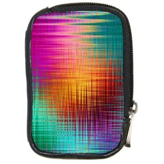 Colourful Weave Background Compact Camera Cases by Simbadda