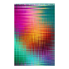 Colourful Weave Background Shower Curtain 48  X 72  (small)  by Simbadda
