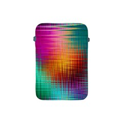 Colourful Weave Background Apple Ipad Mini Protective Soft Cases by Simbadda