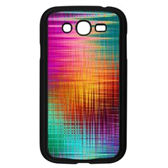 Colourful Weave Background Samsung Galaxy Grand Duos I9082 Case (black) by Simbadda