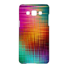 Colourful Weave Background Samsung Galaxy A5 Hardshell Case  by Simbadda