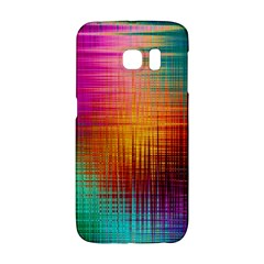 Colourful Weave Background Galaxy S6 Edge
