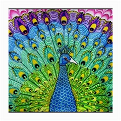 Peacock Bird Animation Medium Glasses Cloth by Simbadda