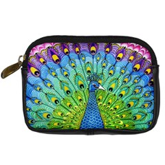 Peacock Bird Animation Digital Camera Cases by Simbadda