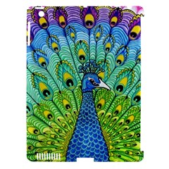 Peacock Bird Animation Apple Ipad 3/4 Hardshell Case (compatible With Smart Cover)