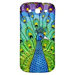 Peacock Bird Animation Samsung Galaxy S3 S Iii Classic Hardshell Back Case by Simbadda