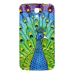 Peacock Bird Animation Samsung Galaxy Mega I9200 Hardshell Back Case by Simbadda