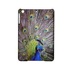 Peacock Bird Feathers Ipad Mini 2 Hardshell Cases by Simbadda