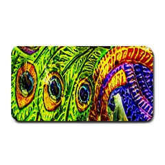 Peacock Feathers Medium Bar Mats by Simbadda