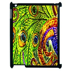 Peacock Feathers Apple Ipad 2 Case (black) by Simbadda