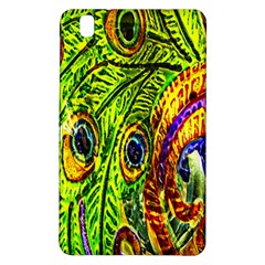 Peacock Feathers Samsung Galaxy Tab Pro 8 4 Hardshell Case by Simbadda