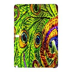 Peacock Feathers Samsung Galaxy Tab Pro 12 2 Hardshell Case by Simbadda