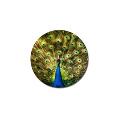 Peacock Bird Golf Ball Marker (10 Pack) by Simbadda
