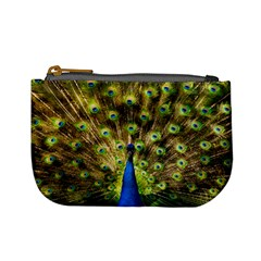 Peacock Bird Mini Coin Purses by Simbadda