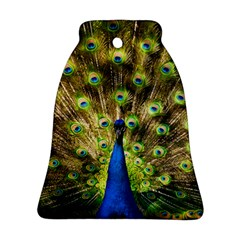 Peacock Bird Bell Ornament (two Sides) by Simbadda