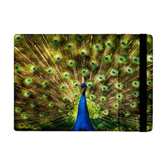 Peacock Bird Apple Ipad Mini Flip Case by Simbadda
