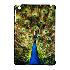 Peacock Bird Apple Ipad Mini Hardshell Case (compatible With Smart Cover) by Simbadda