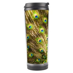 Peacock Bird Travel Tumbler by Simbadda