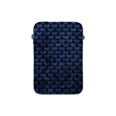 Scales3 Black Marble & Blue Stone (r) Apple Ipad Mini Protective Soft Case by trendistuff