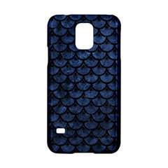 Scales3 Black Marble & Blue Stone (r) Samsung Galaxy S5 Hardshell Case  by trendistuff